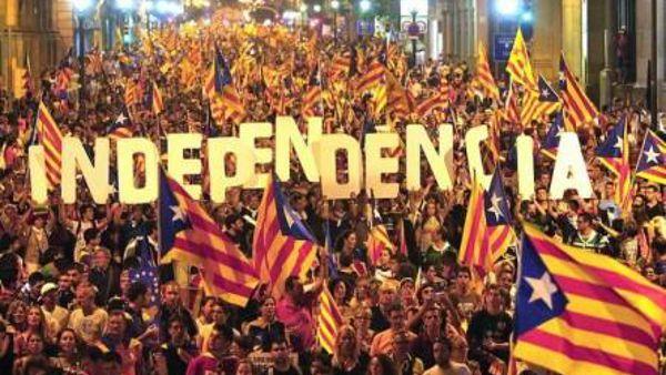 Manifestazione 11 settembre - Catalogna