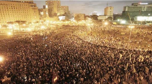 Proteste di Piazza Tahir - Gennaio 2011