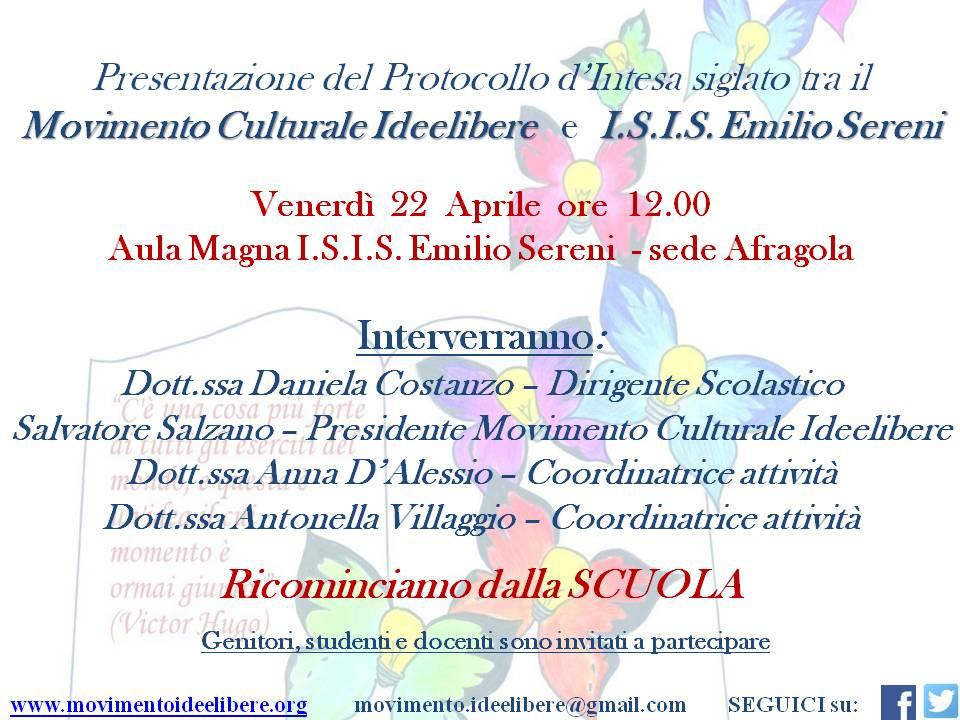 evento presentazione protocollo locandina