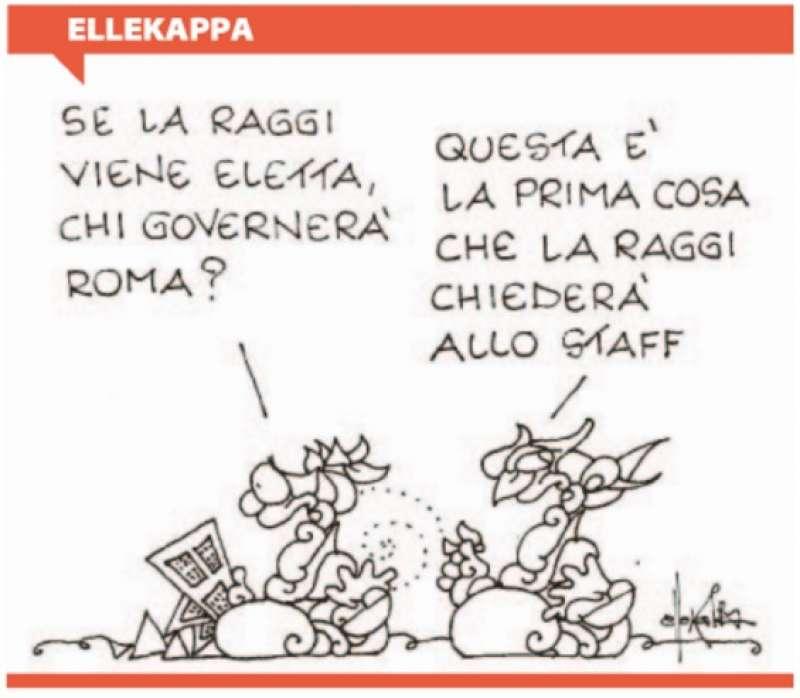 "Vignetta di Ellekappa per ""Repubblica"""