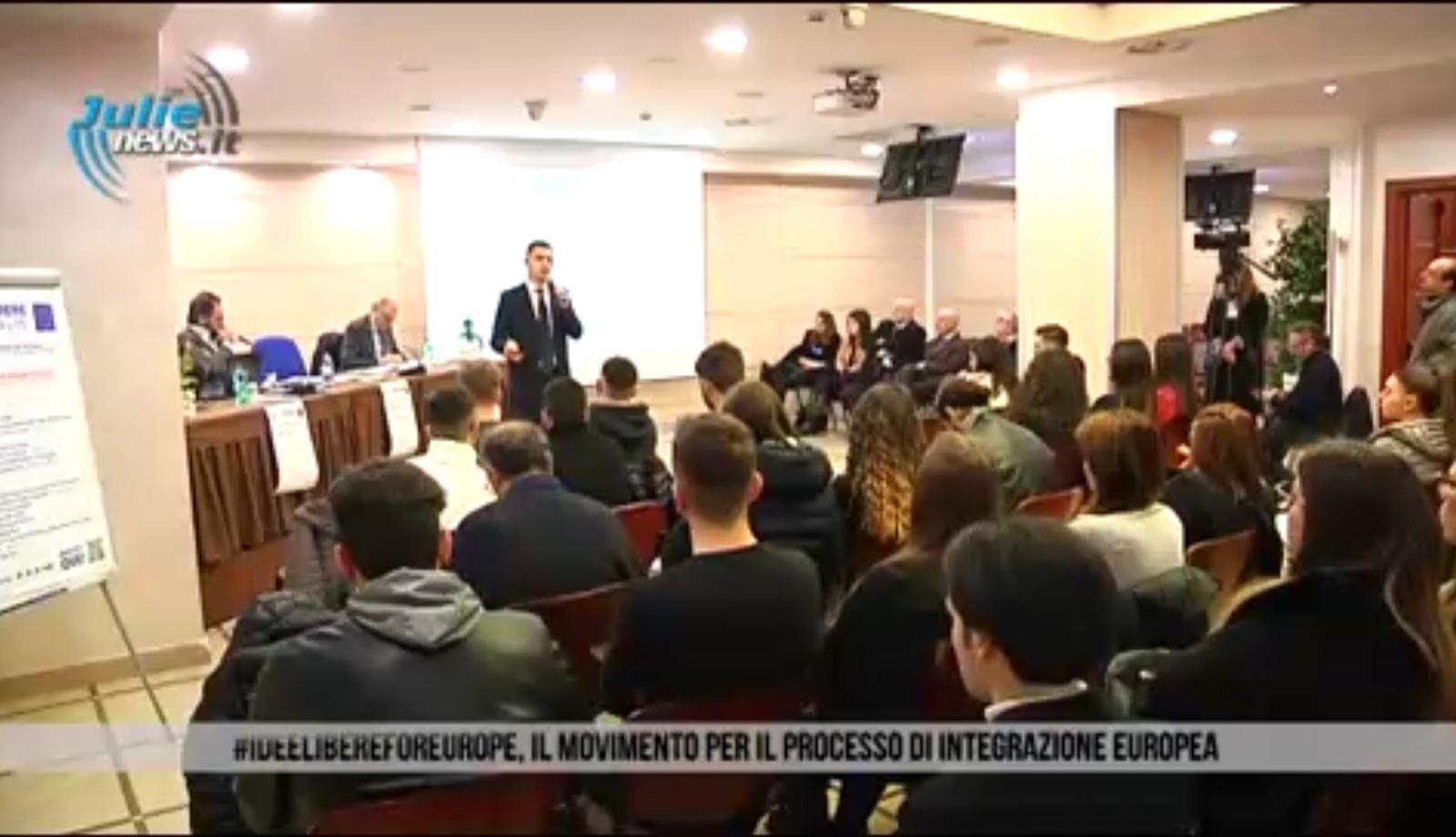 #IdeelibereForEurope 15.03.2019 – Servizio TV di JULIE NEWS